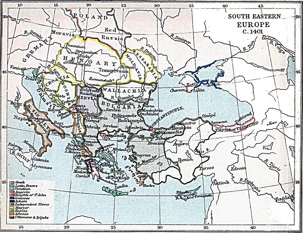 South-eastern Europe 1401