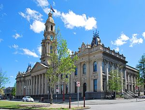 South Melbourne Town Hall - Image: South Melbourne Town Hall 001