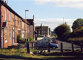 New Fryston Village in West Yorkshire, England