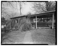 South side of garage and carport - Frank L. Fox House, 127 Second Avenue, Hickory, Catawba County, NC HABS NC,18-HICK,2-5.tif