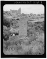 Southeast elevation - Square Tower Group, Square Tower, Near park headquarters, Aneth, San Juan County, UT HABS UTAH,19-ANET.V,1A-3.tif
