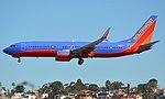 SouthwestBoeing737-800N8606C SANFebruary2019.jpg