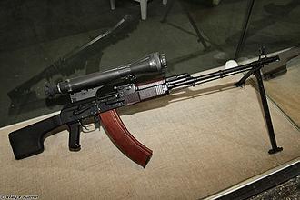 1PN58 - 1PN58 mounted on a RPK-74N2