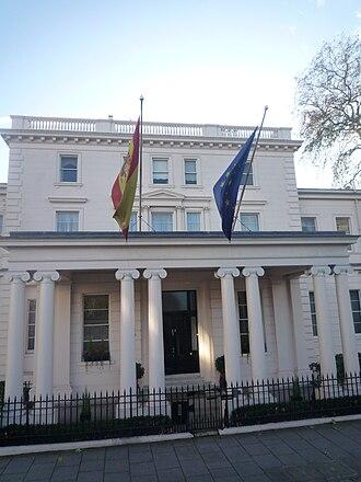 Embassy of Spain, London - Image: Spain Embassy, London
