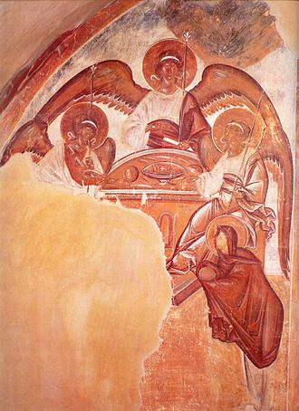 Theophanes the Greek - Image: Spas na Ilyine Trinity