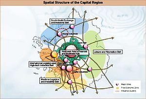 Seoul Capital Area - Industrial Clusters in Seoul Capital Area