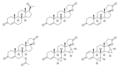 Spirolactone structures.png