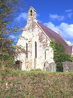 St Michaels Church, Tremain Church in Ceredigion, Wales