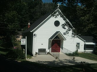 Bear Mountain Indian Mission School - St. Paul's Episcopal Church, July, 2016