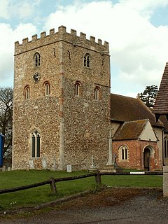 Stambourne village in United Kingdom