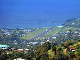 St. Vincent, Karibik - E.T. Joshua Airport in Kingstown - panoramio.jpg