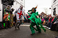 St Albans Mummers production of St George and the Dragon, Boxing Day 2015-3.jpg