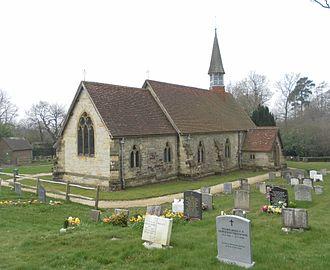 James Piers St Aubyn - St Bartholomew's Church, Cross-in-Hand