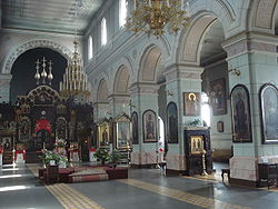 St Boris and Gleb Orthodox Cathedral in Daugavpils6.JPG