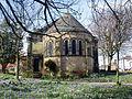 St Chad's Church, Poulton-le-Fylde apse and crocuses.jpg