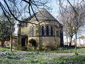 St Chad's Church, Poulton-le-Fylde - The apse of St Chad's, added in 1868
