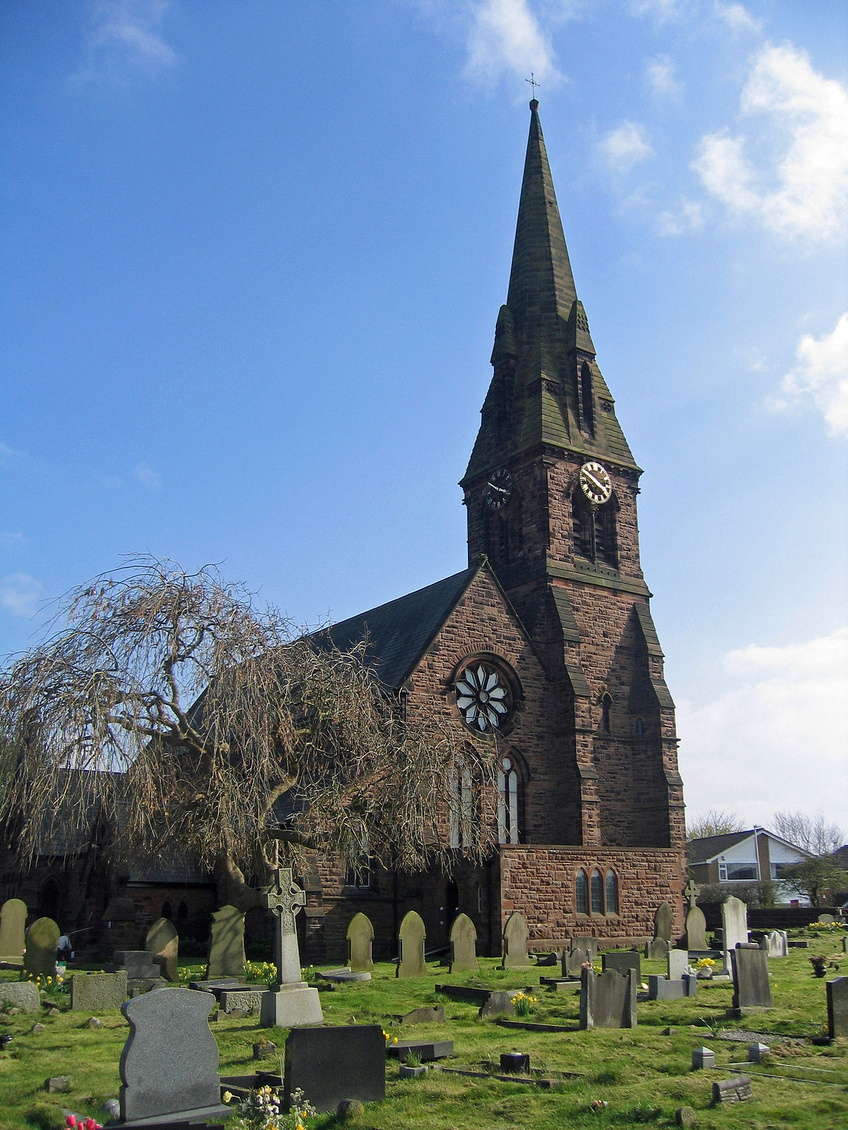 St John The Evangelist S Church Winsford Wikipedia
