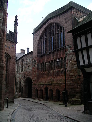 Grade I listed buildings in Coventry - Image: St Marys Hall Coventry 8o 08