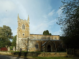 Skeffington - Image: St Thomas a Becket, Skeffington