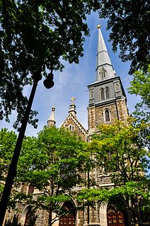 St. Marys Church (New Haven, Connecticut) Church in Connecticut, United States
