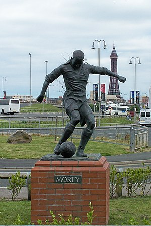 Stan Mortensen - Statue outside Bloomfield Road