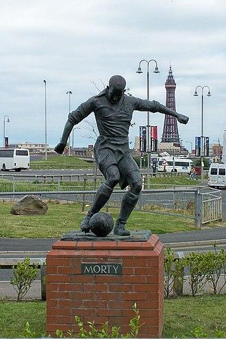 Stan Mortensen - Statue outside Bloomfield Road