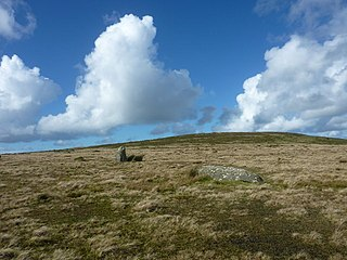 Waun Mawn Dismantled neolithic stone circle in Pembrokeshire,