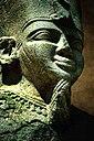 Statua di un re nubiano.