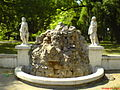 Statue in the Public Garden - Braila.JPG