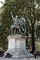 Statue of Carolus Magnus near Notre-Dame, 2 June 2006 002.jpg