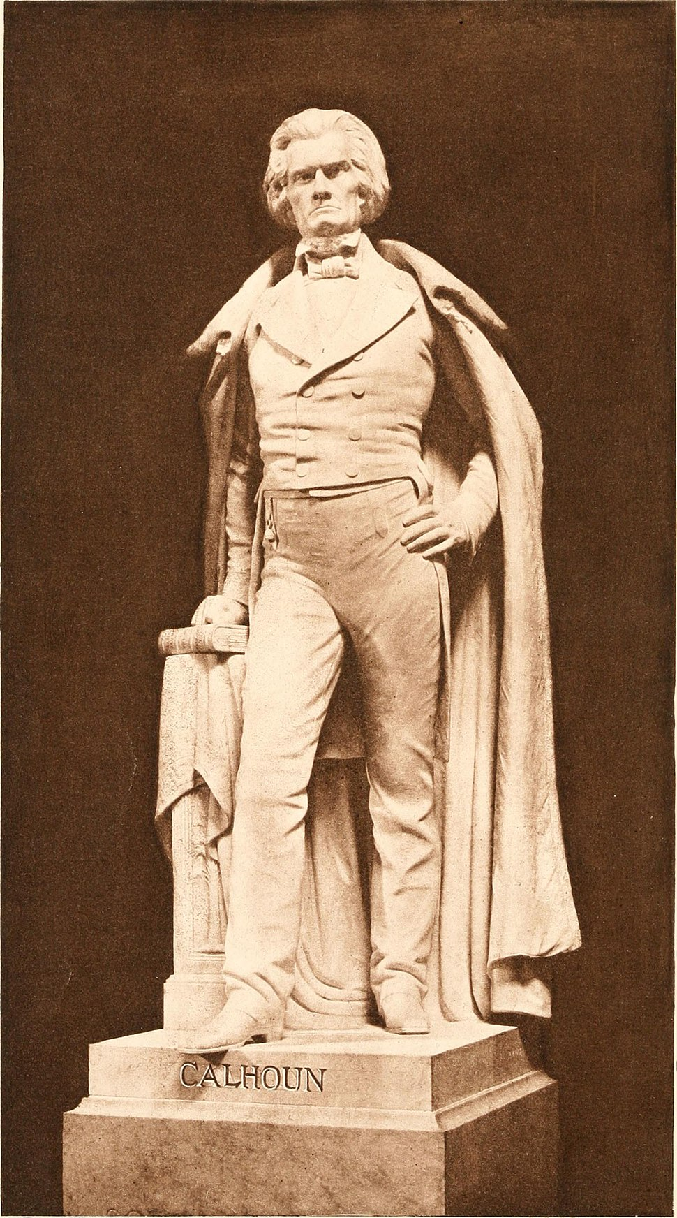 Statue of Hon. John C. Calhoun erected in Statuary Hall of the Capitol at Washington. Proceedings in Statuary Hall and in the Senate and the House of Representatives on the occasion of the unveiling, (14762688871)