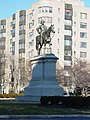 Statue of Winfield Scott by Henry Kirke Brown (Scott Circle, Washington DC, 2006).jpg
