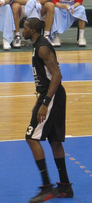 KK Partizan all-time roster - Stéphane Lasme is the only African to play for Partizan