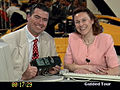 Stephen Berry, Softvision with Jackie Elleker, Microsoft UK.JPG