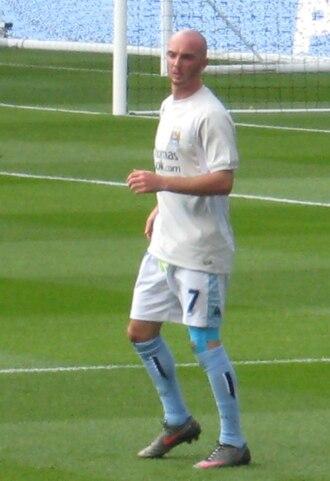 Stephen Ireland - Ireland training with Manchester City in 2008