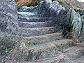 Steps carved out of Rock at Long Cove - geograph.org.uk - 343422.jpg