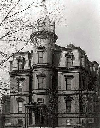 Embassy of China in Washington, D.C. - Image: Stewart's Castle Washington, D.C