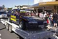 Stock car in the SunRice Festival parade in Pine Ave (1).jpg