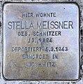 Stolperstein Bamberger Str 31 (Schöb) Stella Meissner.jpg