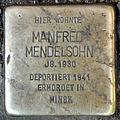 Stolperstein Donaustr 18 (Neukö) Manfred Mendelsohn.jpg