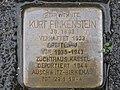Stolperstein Kurt Finkenstein, 1, Karthäuserstraße 5a, Mitte, Kassel.jpg