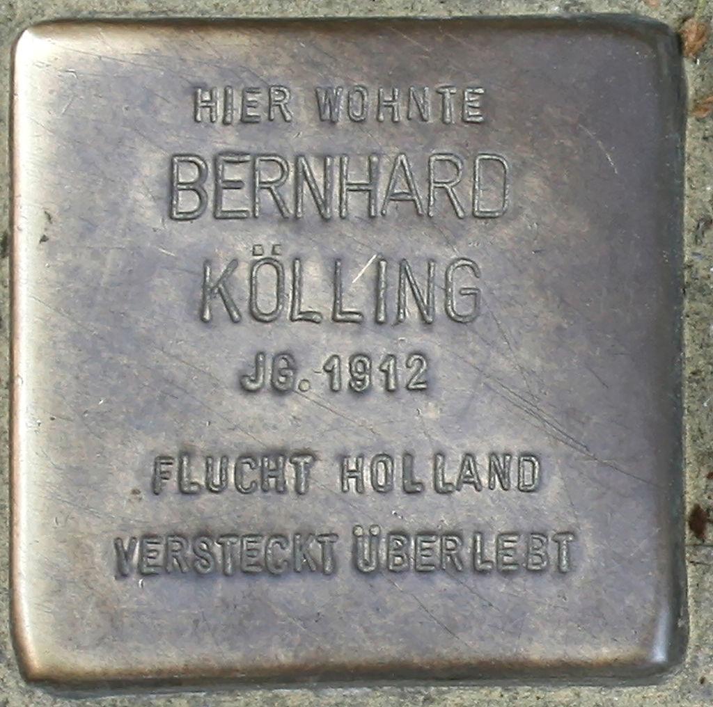 Stolperstein Schwerte Cava-dei-Tirreni-Platz 03 Bernhard Kölling.jpg