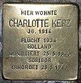 Stolperstein Stierstr 4 (Friedn) Charlotte Kerz.jpg