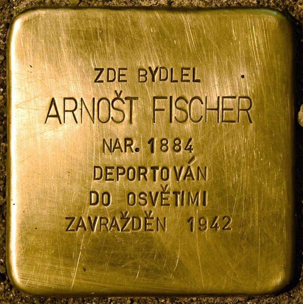 Stolperstein für Arnost Fischer.jpg