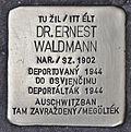 Stolperstein für Dr. Ernest Waldmann.JPG