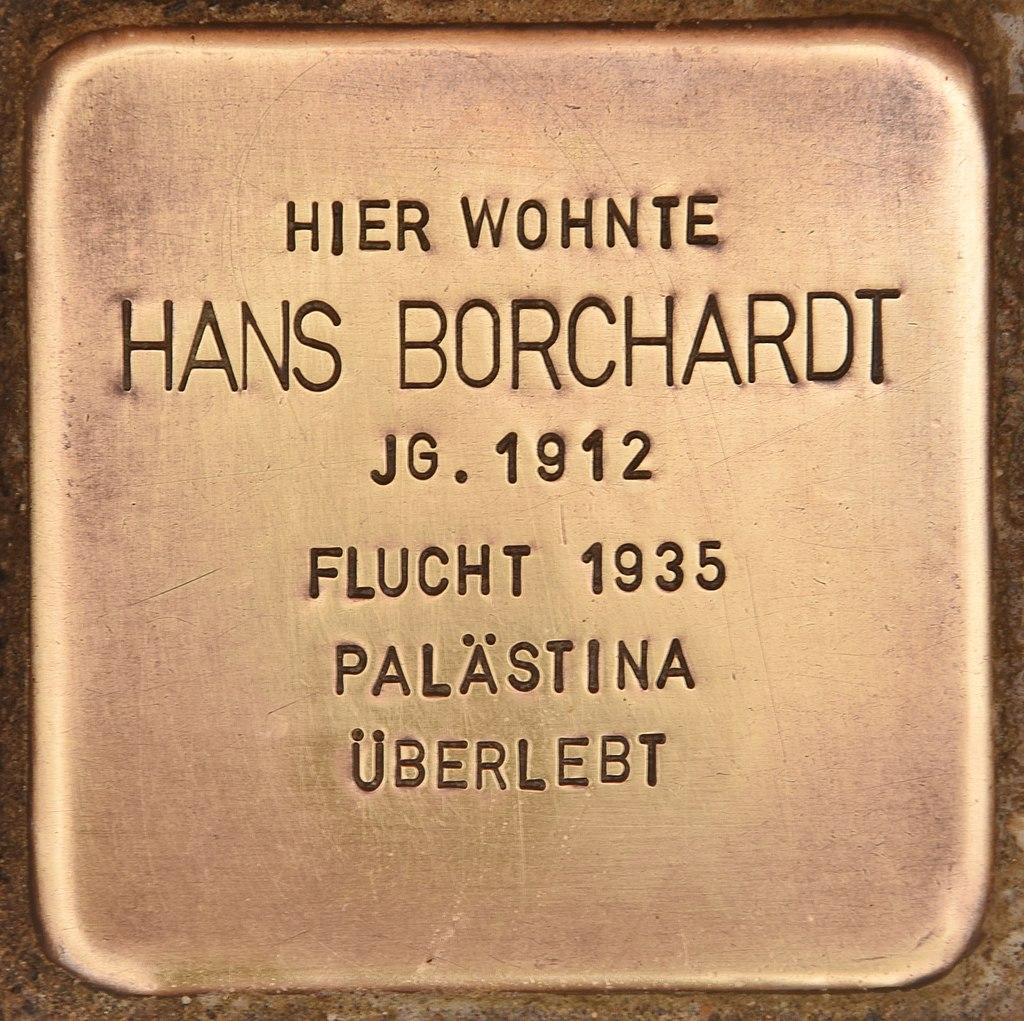 Stolperstein für Hans Borchardt (Kremmen).jpg