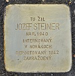 Stolperstein für Jozef Steiner (Prievidza).jpg