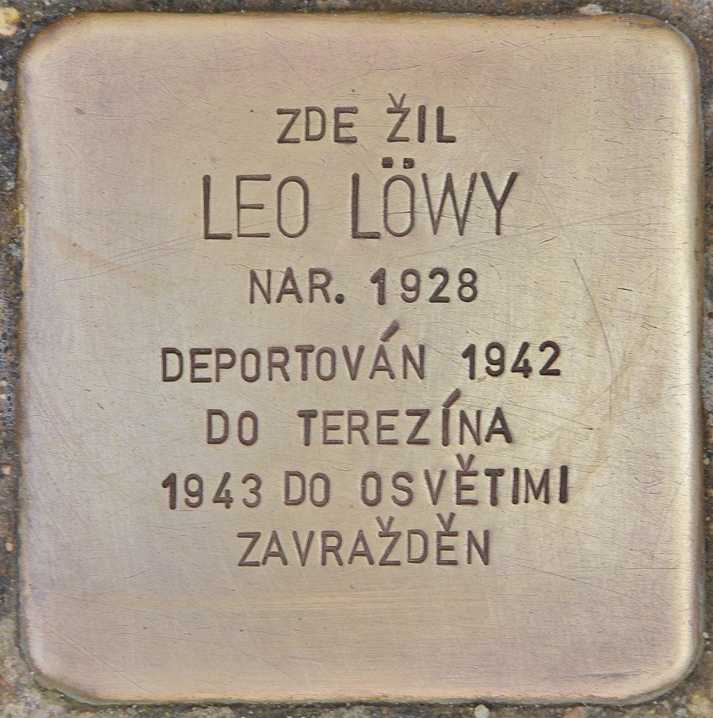 Stolperstein für Leo Löwy (Horaždovice).jpg