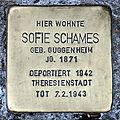 Stolperstein sandweg 5 schames sofie.JPG