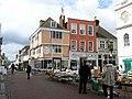 Street market, by Faversham Town Hall. - geograph.org.uk - 1624716.jpg